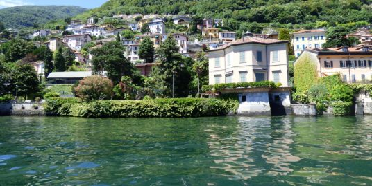 Lake Como Laglio Front Lake Villa with Boathouse