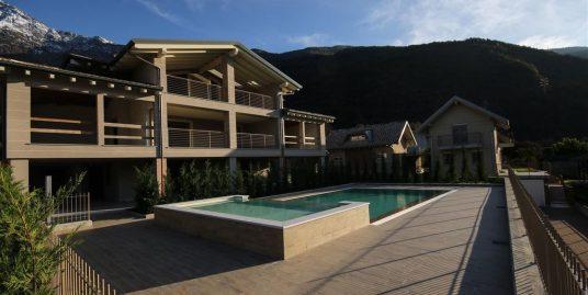 Lake Como Colico Luxury Brand New Villa with Pool