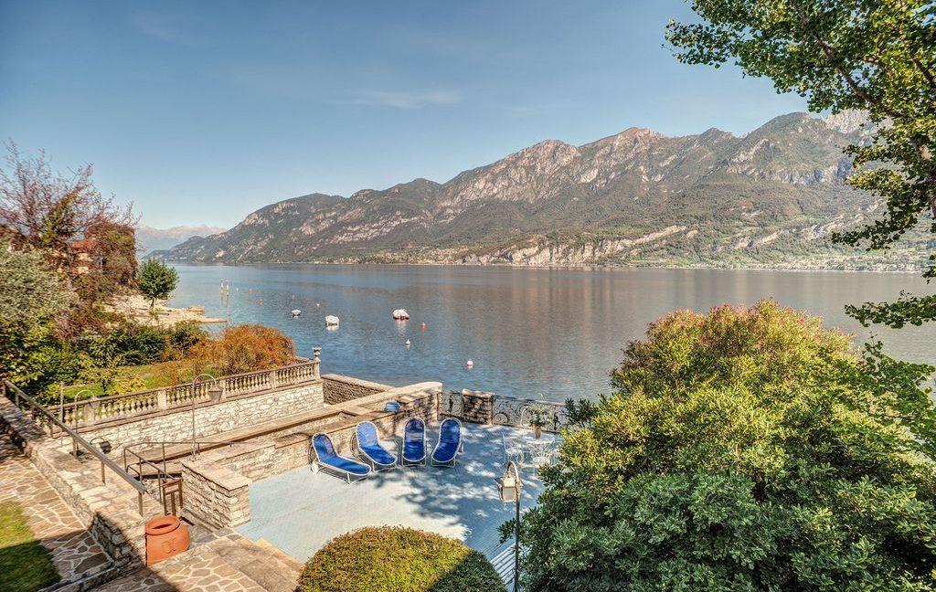 Bellagio Luxury Villa terrace on the lake