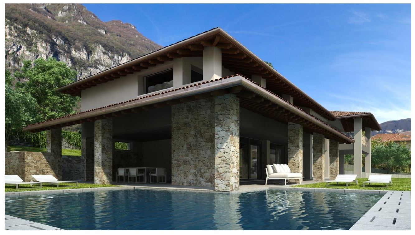 Lake Como Tremezzo Brand New Villa with Lake View