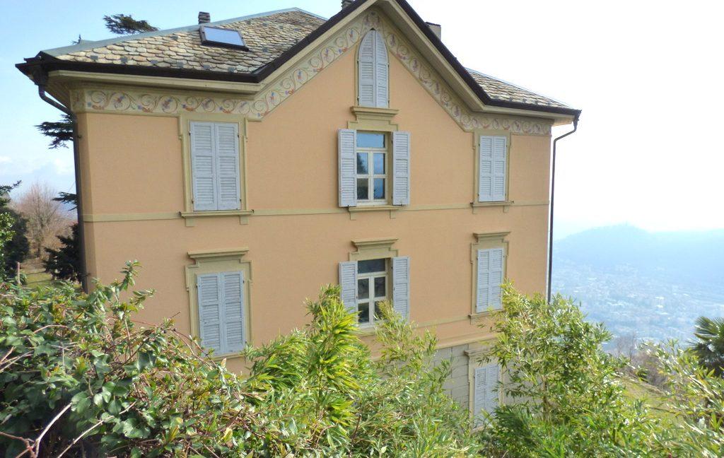 Lake Como Brunate Period Villa with Wonderful Lake View