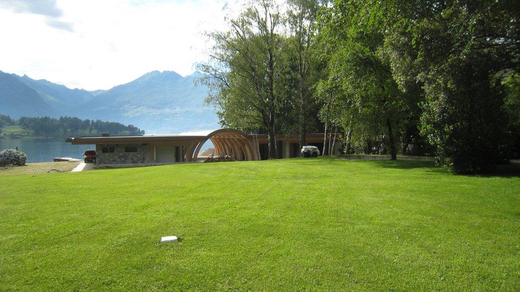 Lake Como Colico Exclusive Property Front Lake