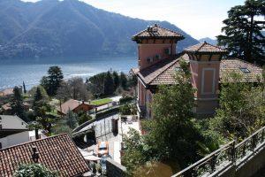 Cernobbio Villa with lake view