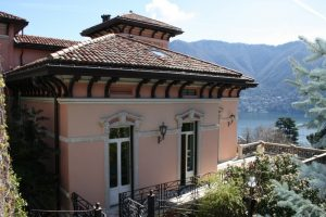 Cernobbio Villa with tower