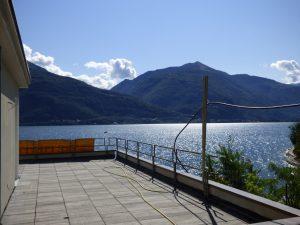 Pianello del Lario Luxury Villa Directly on The Lake Como with terrace