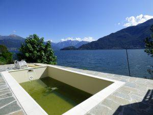 Pianello del Lario Luxury Villa Directly on The Lake Como three bedrooms
