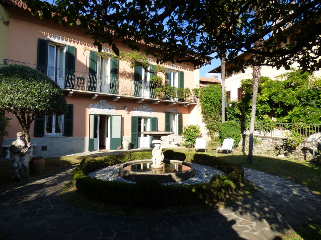 Luxury Real Estate With Garden Tremezzo Lake Como