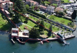 Faggeto Lario Villa directly on the lake