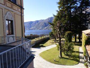 Faggeto Lario Villa garden