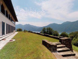 Luxury Villa Mandello del Lario Lake Como garden of 17000sqm