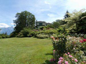 Luxury Villa Colico boathouse