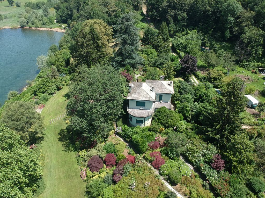 Luxury Villa with Boathouse Colico Front Lake Como