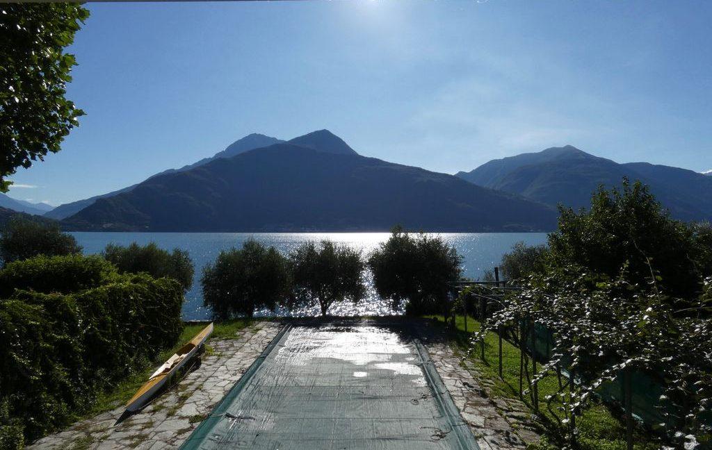 Luxury Villa Front Lake with Dock Pianello del Lario  - terrace