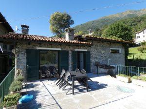 Luxury Villa Front Lake with Dock Pianello del Lario with porch