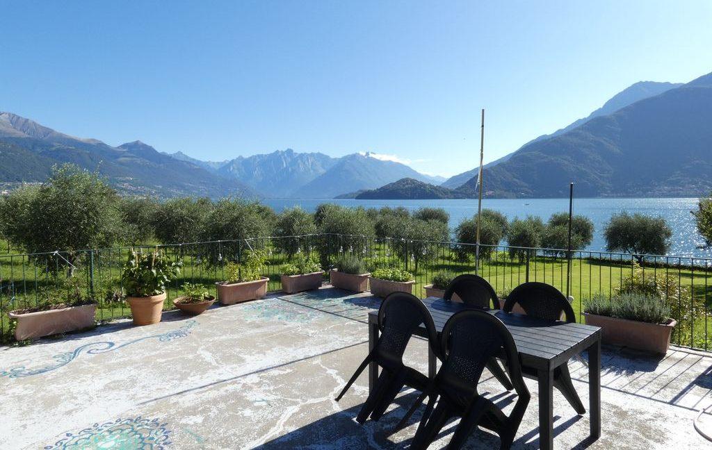 Luxury Villa Front Lake with Dock Pianello del Lario terrace