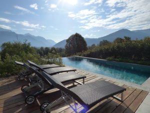 modern Villa with Lake Como view