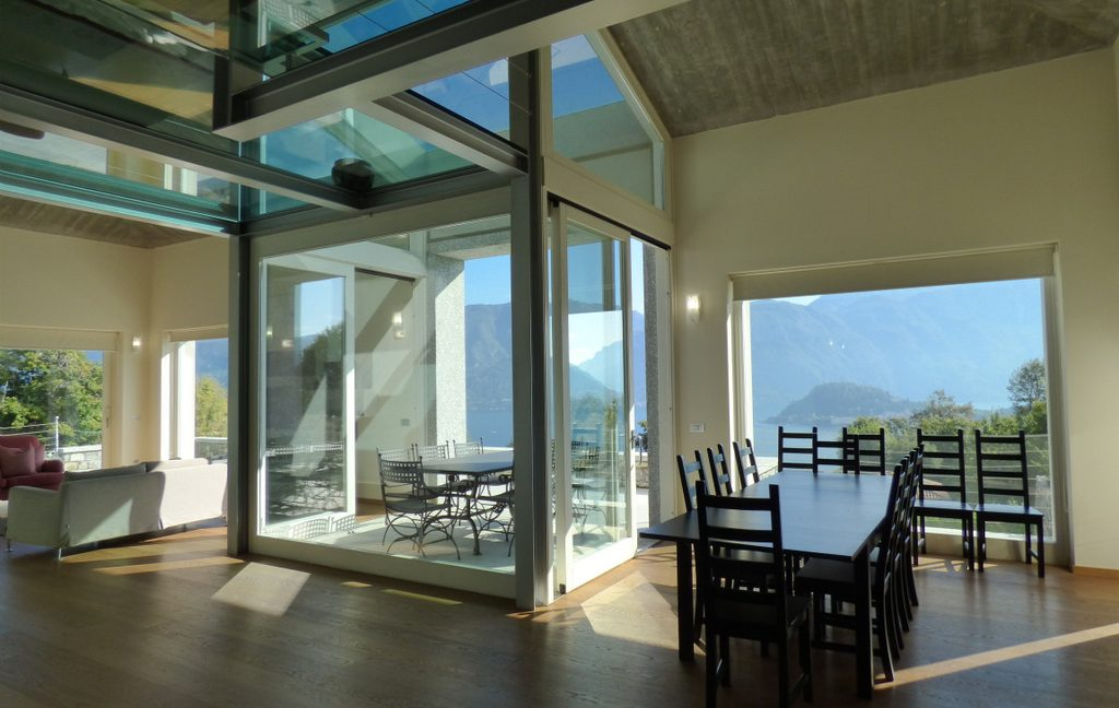 Tremezzina modern Villa with Lake Como view