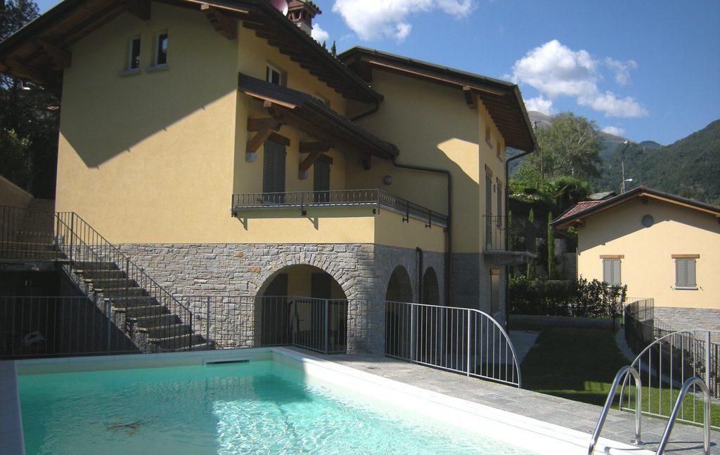 Villa Menaggio with Swimming pool and Lake view
