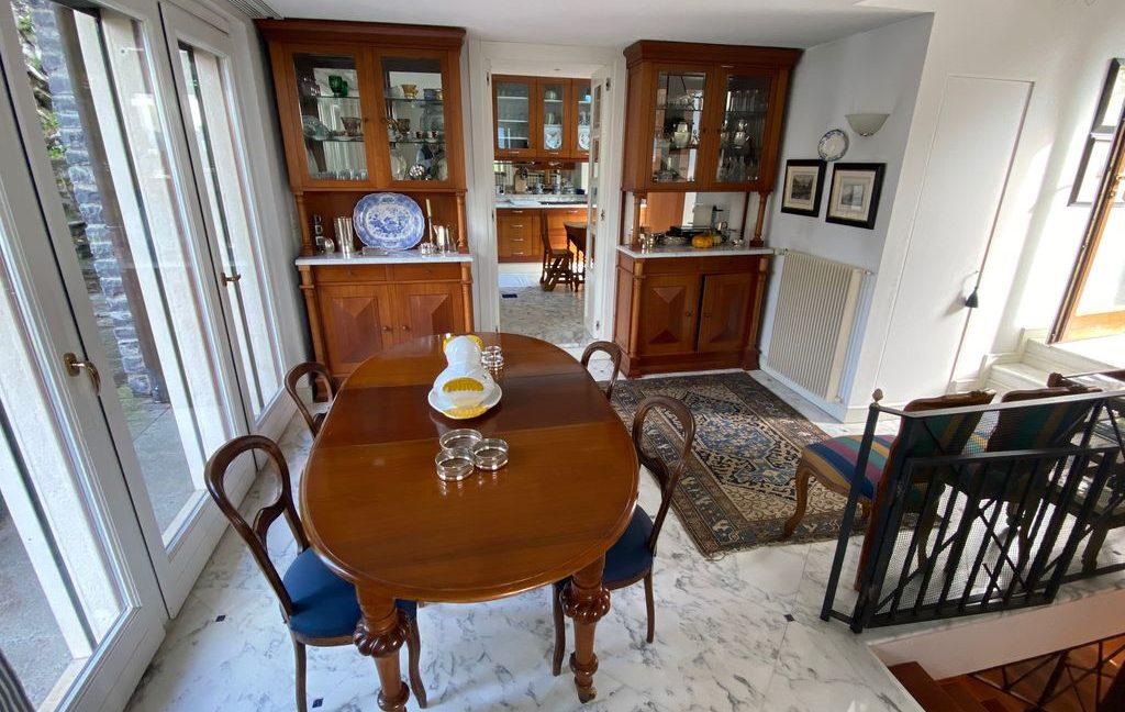 Luxury Villa Lake Como Torno with Boathouse - living