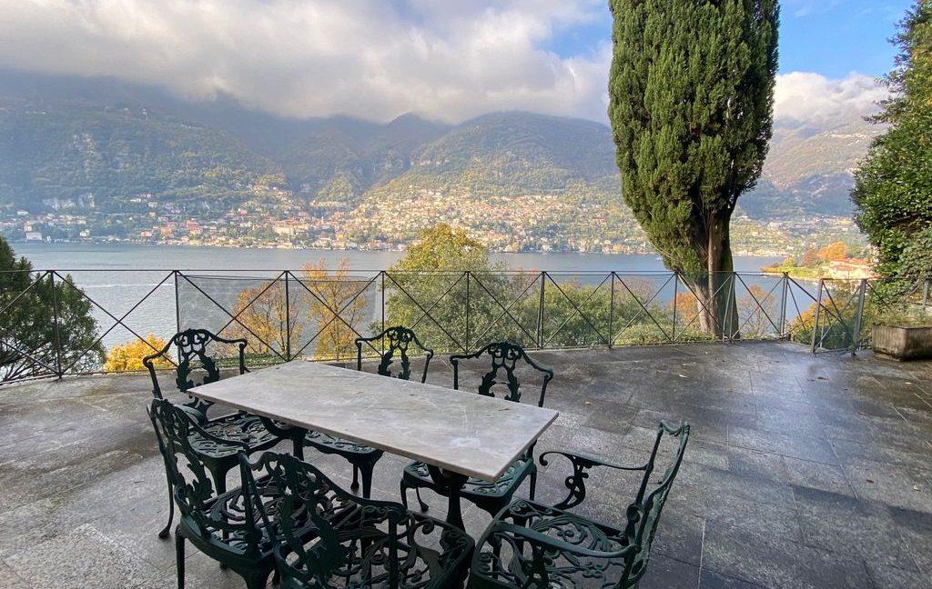 Luxury Villa Lake Como Torno with Boathouse - terrace