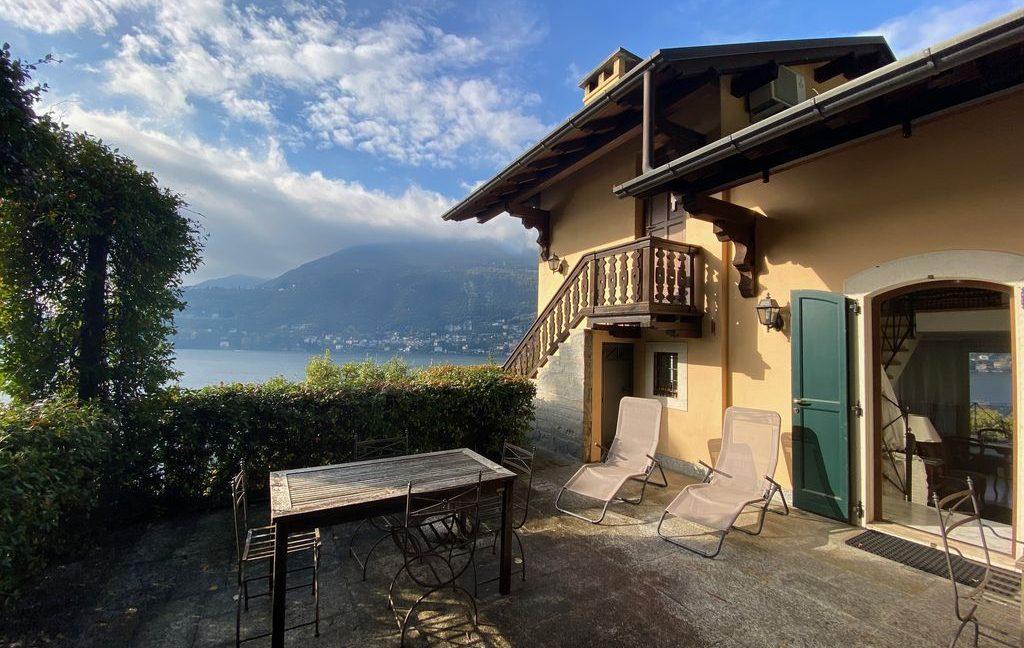 Luxury Villa Lake Como Torno with Boathouse terrace