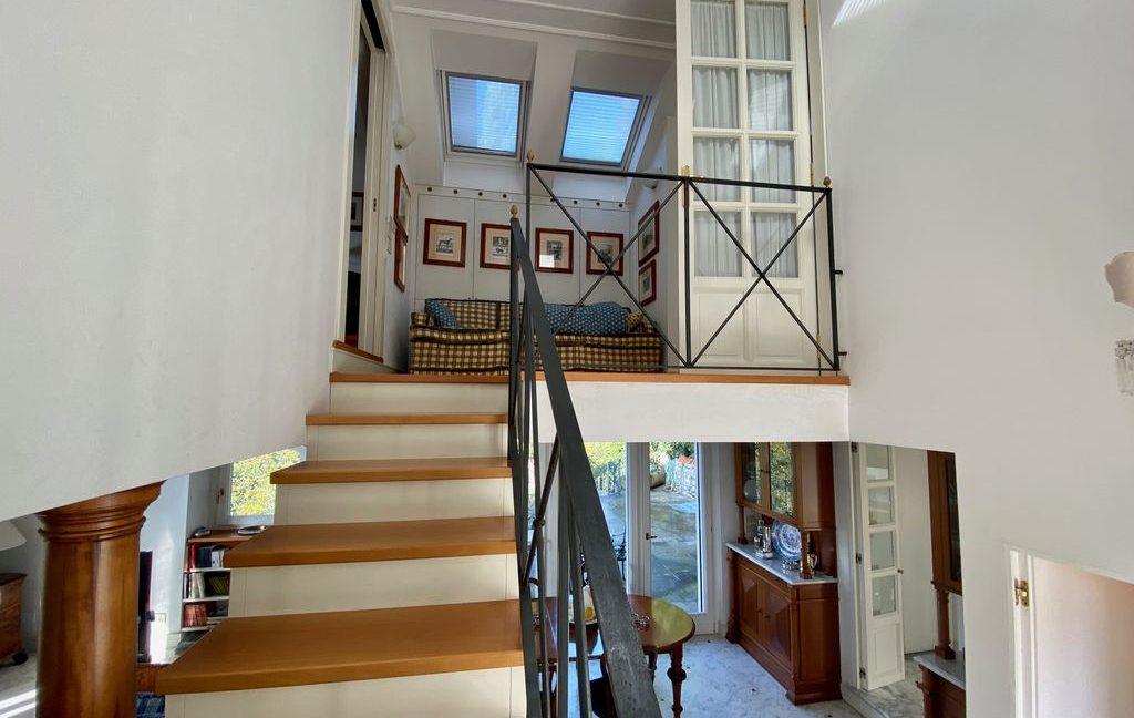 Luxury Villa Lake Como Torno with Boathouse - stairs