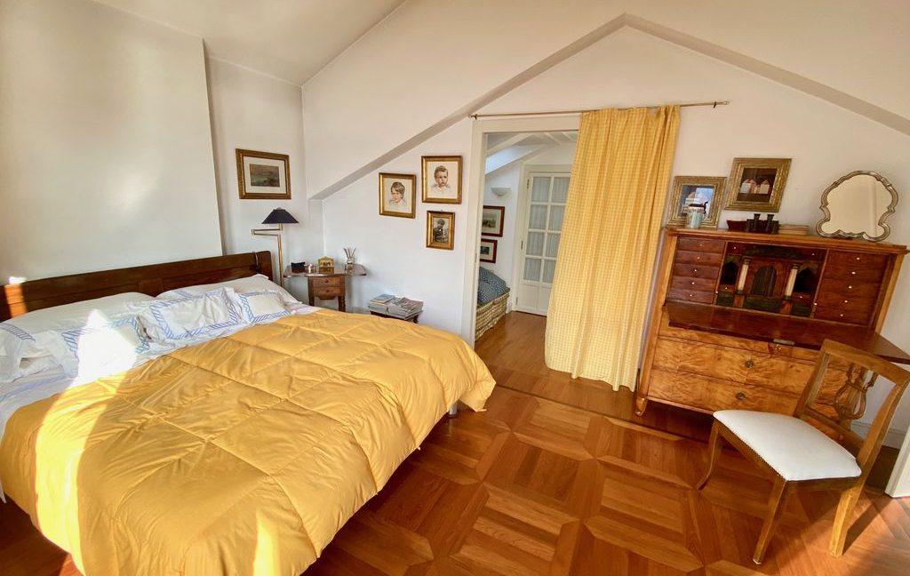Luxury Villa Lake Como Torno with Boathouse - bedroom
