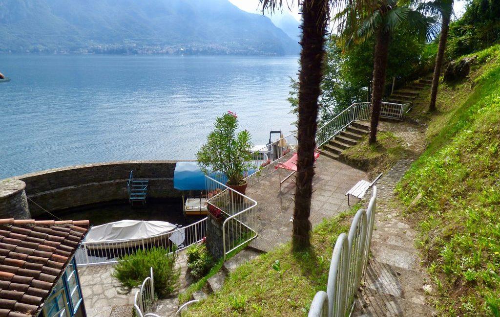 Luxury Villa Bellagio Front Lake Como with Dock - garden