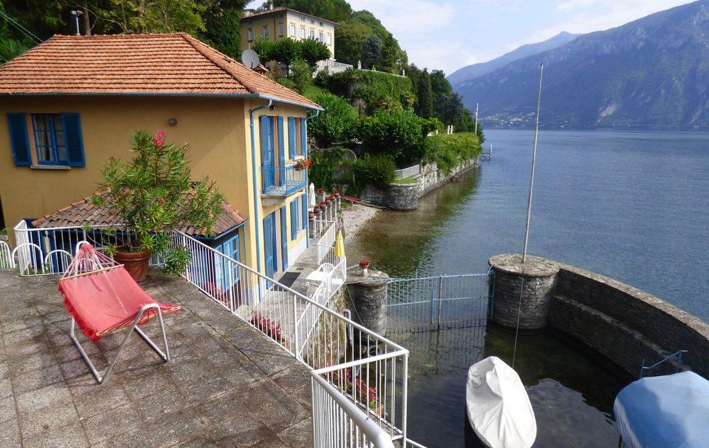 Luxury Villa Bellagio Front Lake Como with Dock - lake view