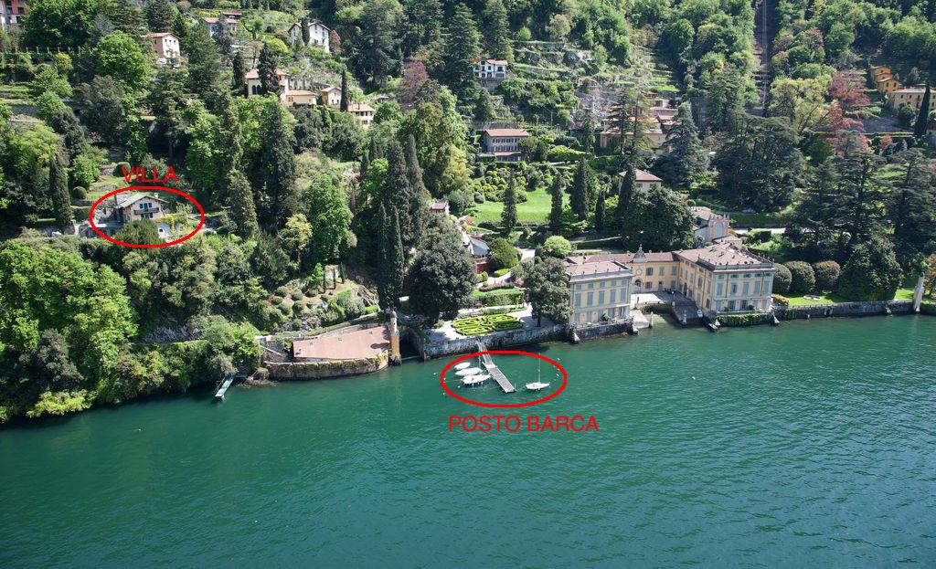 Luxury Villa Lake Como Torno with Boathouse - garden