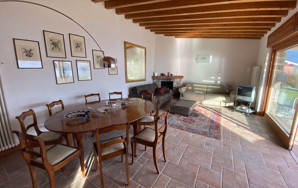 Luxury Villa Pianello Lake Como - living