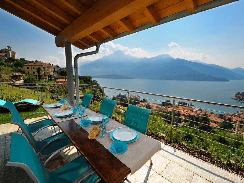 Luxury Villa Lake Como Gravedona ed Uniti with Pool -terrace