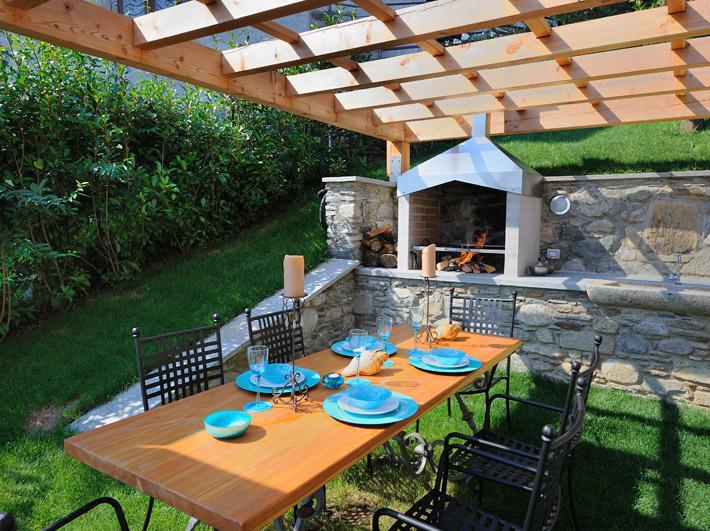 Luxury Villa Lake Como Gravedona ed Uniti with Pool - barbecue