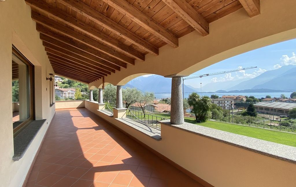 Luxury Villa Lake Como Domaso with Swimming Pool - terrace