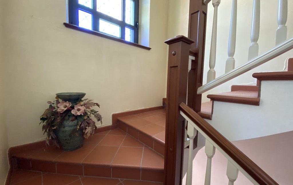 Luxury Villa Lake Como Domaso with Swimming Pool - stairs