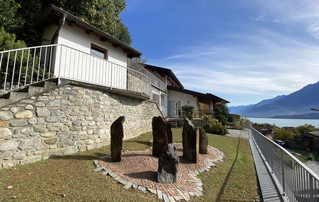 Luxury Villa Gravedona ed Uniti with Swimming Pool - garden