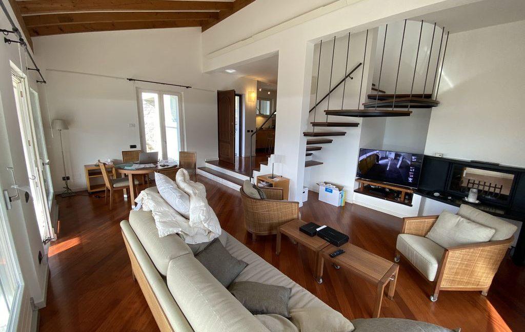 Luxury Villa Gravedona ed Uniti with Swimming Pool - living