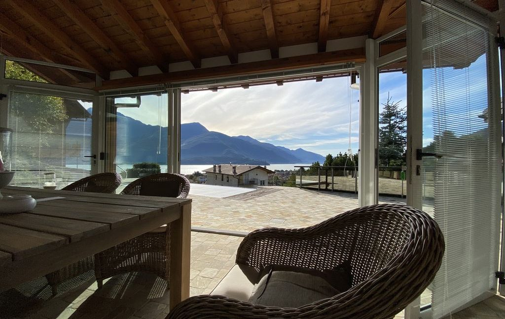 Luxury Villa Gravedona ed Uniti with Swimming Pool - veranda