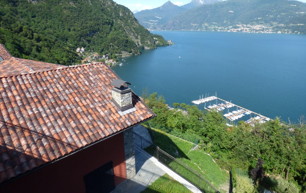 Luxury Villa Menaggio Lake Como - lake view