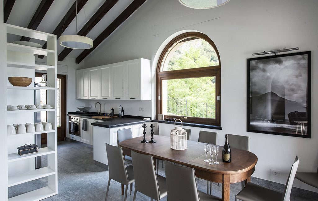 Luxury Villa Lake Como Tremezzo with Swimming Pool  - kitchen