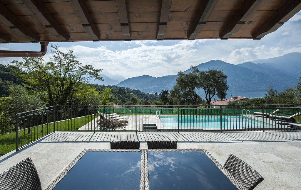 Luxury Villa Lake Como Tremezzo with Swimming Pool  - terrace
