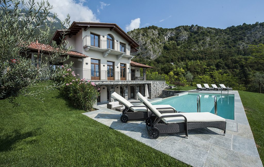Luxury Villa Lake Como Tremezzo with Swimming Pool - sunny