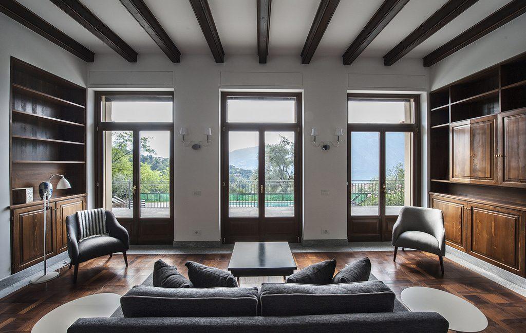 Luxury Villa Lake Como Tremezzo with Swimming Pool  - living