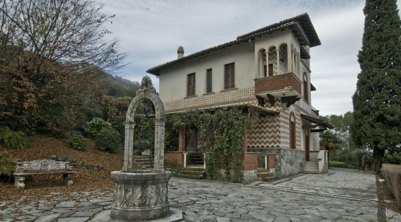 Luxury Villa Oliveto Lario with Boathouse - external
