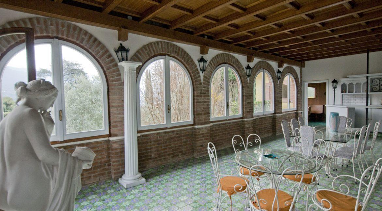 Luxury Villa Oliveto Lario with Boathouse - tennis court