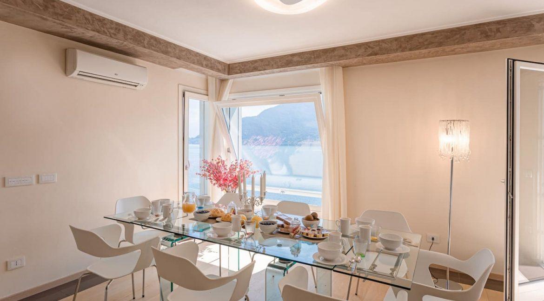 Pianello del Lario Luxury Villa Directly on Lake Como - dining