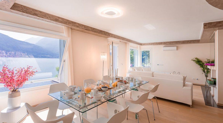 Pianello del Lario Luxury Villa Directly on Lake Como - dining room