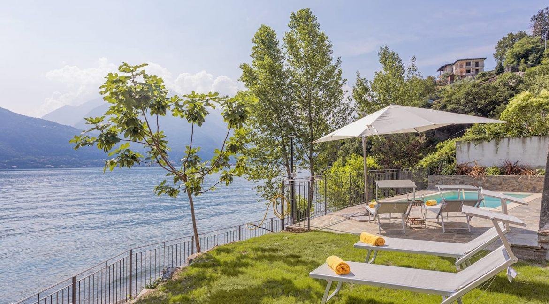 Pianello del Lario Luxury Villa Directly on Lake Como - garden