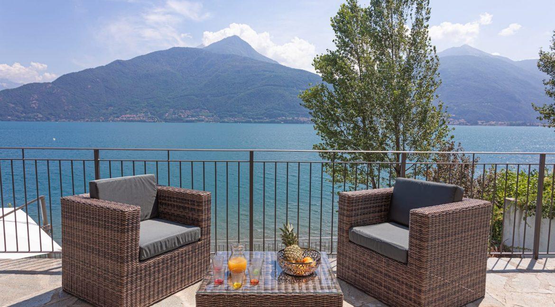 Pianello del Lario Luxury Villa Directly on Lake Como - terrace