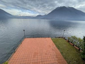 Lake Como Argegno Villa Water Front with Boathouse - lake view